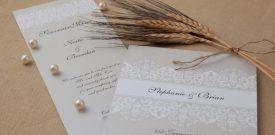 De trouwkaart, het visitekaartje voor een groot succes