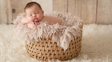 Net bevallen? Leg je kleintje vast in een newborn fotoshoot