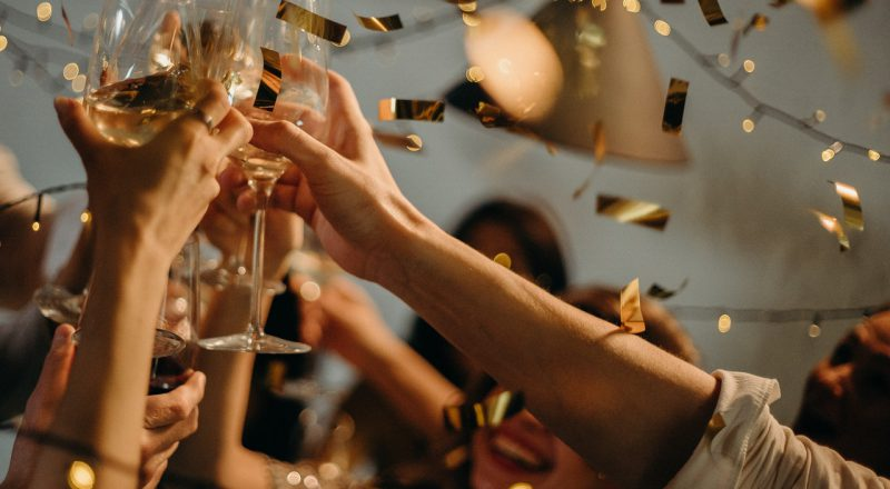Waarom we belangrijke momenten vieren met champagne!